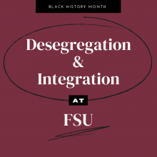 desegregation and integration at FSU
